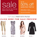 Marks and Spencer Sale 50% Off