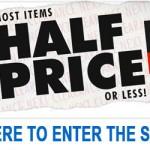 NEXT Half Price Sale
